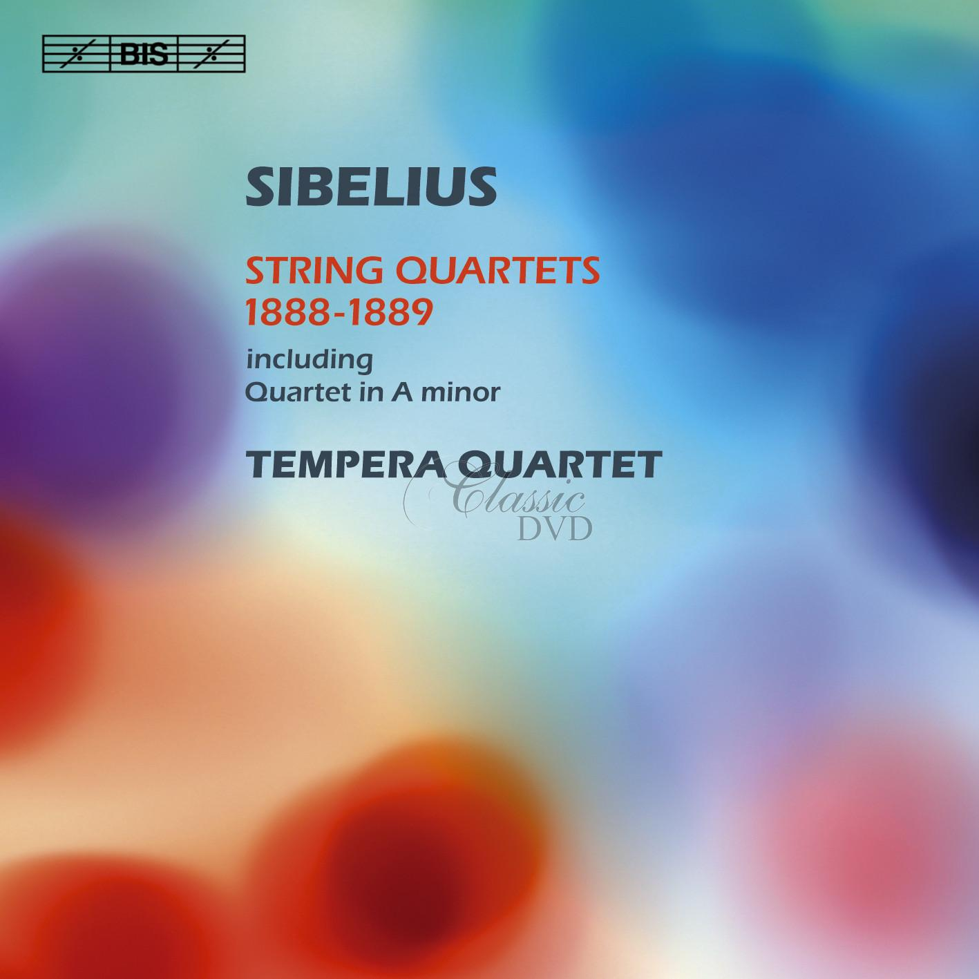 Sibelius - String Quartets 1888-1889 (CD)