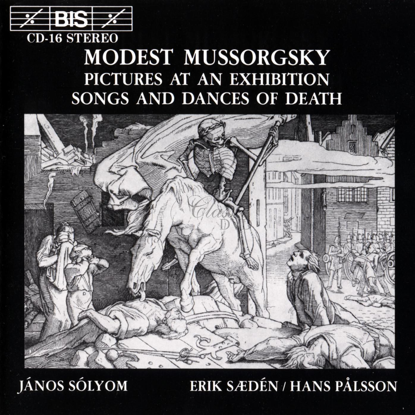 Mussorgsky - Pictures at an Exhibition (CD)