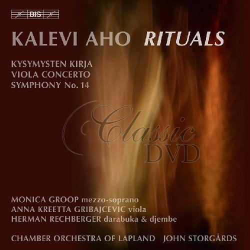 AHO,K.: Concert for Chamber Orchestra (CD)