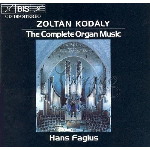 KODALY,Z.: Complete Organ Music (CD)