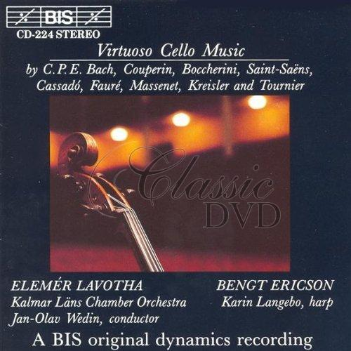 VIRTUOSO CELLO MUSIC (CD)