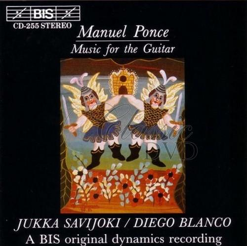 PONCE,M.: Music for the Guitar (CD)