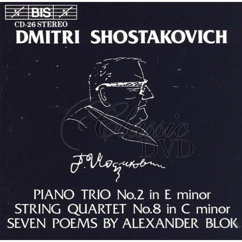 ŠOSTAKOVIČ,D.: Piano Trio No. 2 / String Quartet No. 8 / 7 Poems, Op. 127 (CD)
