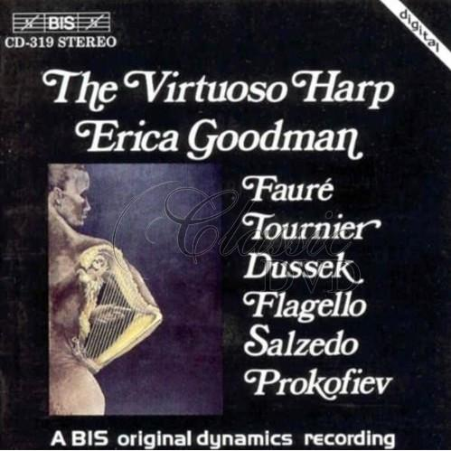 THE VIRTUOSO HARP - Erica Goodman, Harp (CD)