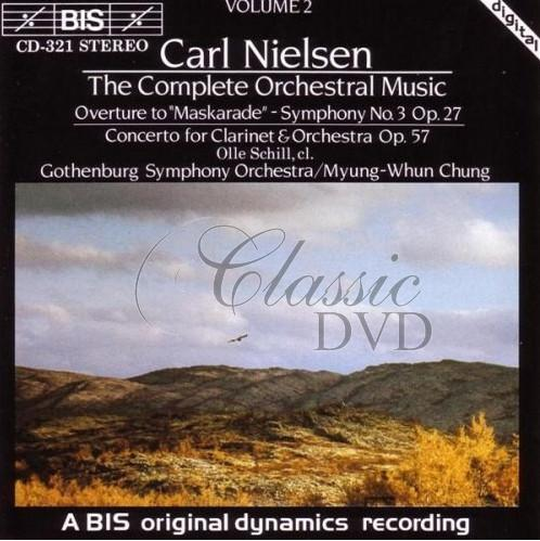 NIELSEN,C.: Complete Orchestral Music, Vol.2 (CD)