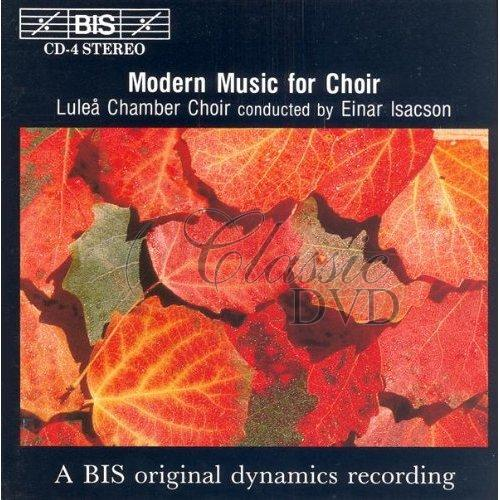 MODERN MUSIC FOR CHOIR (CD)
