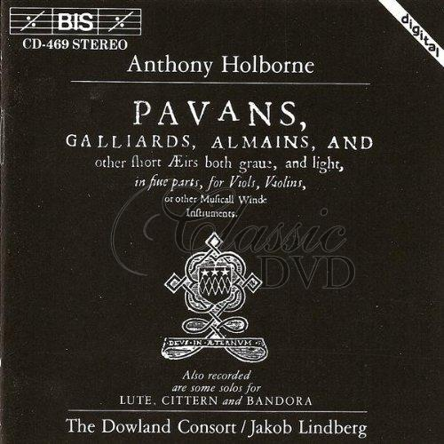 HOLBORNE,A.: Pavans, Galliards, Almains, And Other Short Airs (CD)