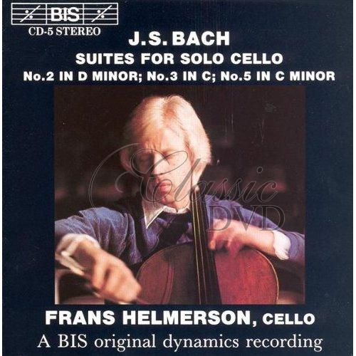 BACH,J.S.: Suites for Solo Cello [Frans Helmerson] (CD)