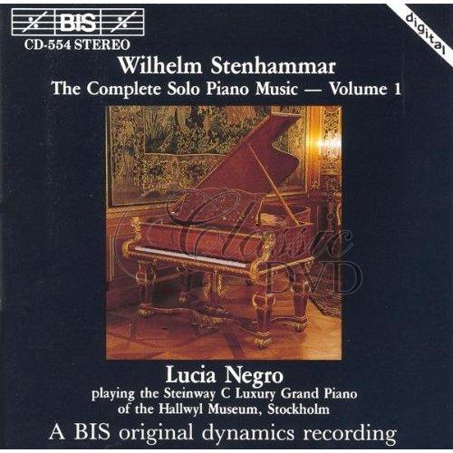 STENHAMMAR,W.: The Complete Solo Piano Music, Vol.1 (CD)
