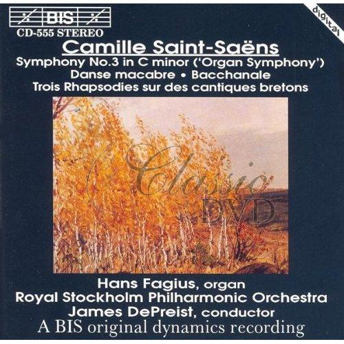 SAINT-SAENS,C.: Symphony No.3 (CD)