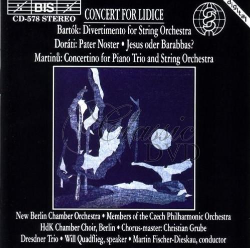 CONCERT FOR LIDICE (CD)