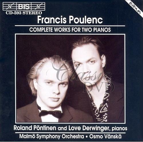 POULENC,F.: Complete Works for Two Pianos (CD)