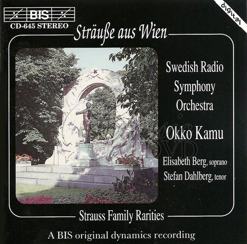 STRAUSS: Family Rarities (CD)