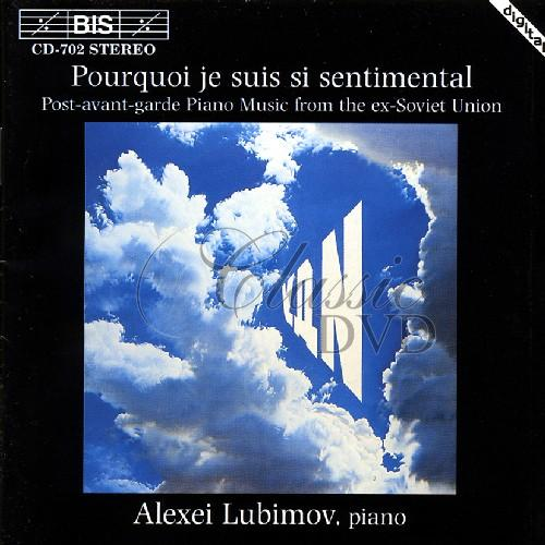 POST-AVANT-GARDE PIANO MUSIC: From ex-Soviet Union (CD)