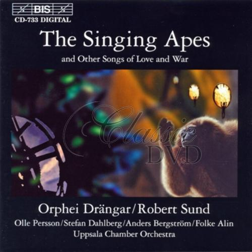 SINGING APES and Other Songs of Love and War (CD)