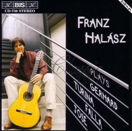 Franz Halász plays Spanish Guitar Music (CD)