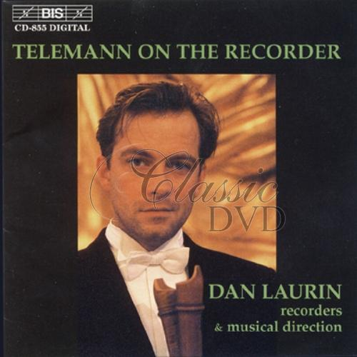 TELEMANN,G.P.: On the recorder (CD)