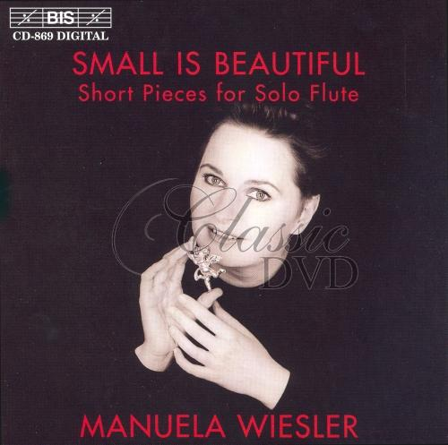 SMALL IS BEAUTIFUL: Short Pieces for Solo Flute (CD)
