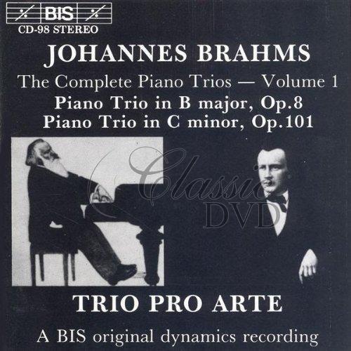 BRAHMS,J.: Piano Trios, Vol.1 (CD)