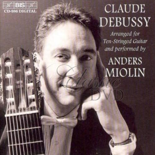 DEBUSSY,C.: Arranged for Ten-Stringed Guitar (CD)