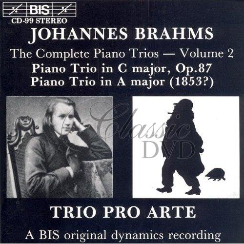 BRAHMS,J.: Piano Trios, Vol.2 (CD)