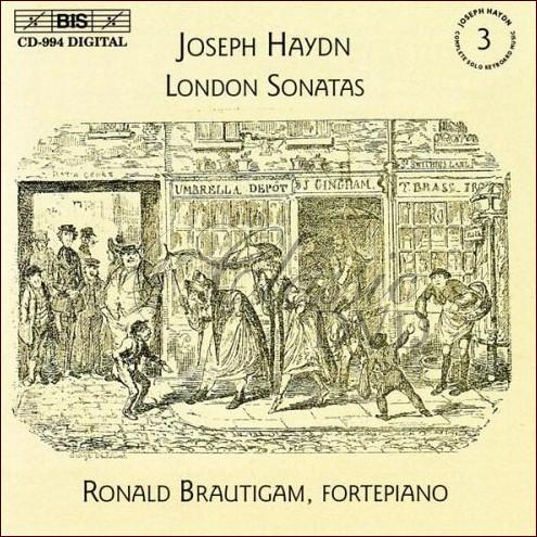 HAYDN,J.: Complete Solo Keyboard Music, Vol.3 - London Sonatas (CD)