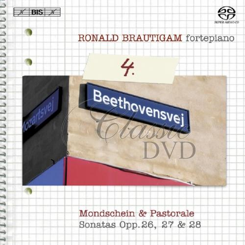 BEETHOVEN,L.V.: Complete works for solo piano, Vol.4 [Brautigam] (SACD)
