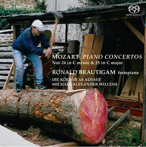 MOZART,W.A.: Piano Concertos Nos. 24 and 25 (SACD)