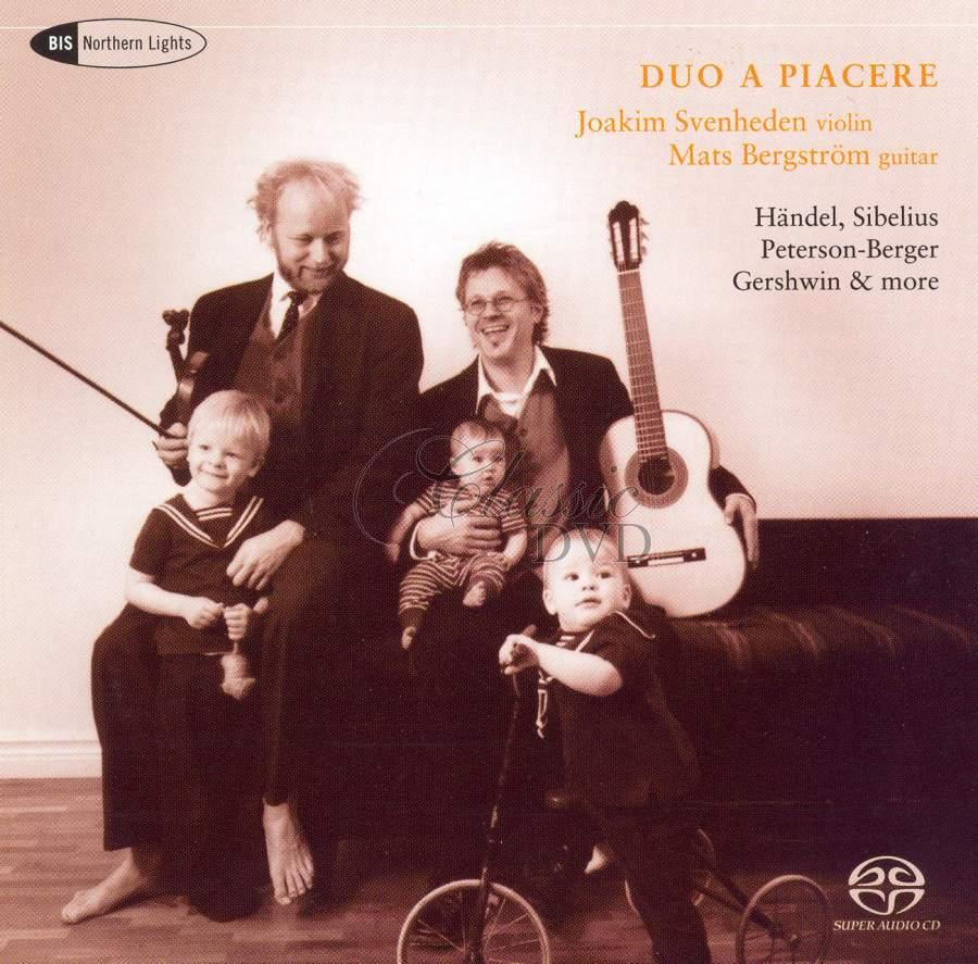 Duo a Piacere - Music for violin and guitar (SACD)