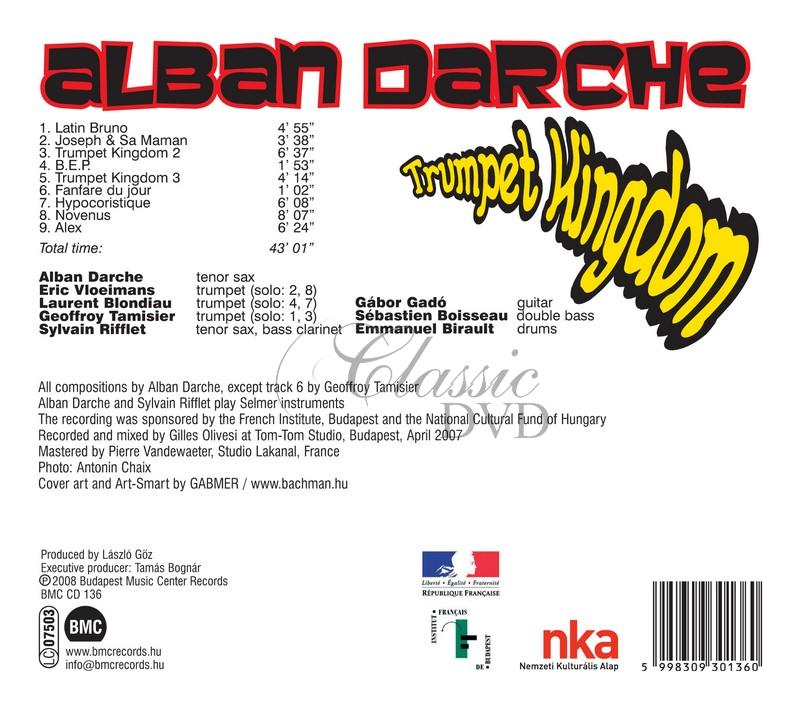 Alban Darche - Trumpet kingdom (CD)