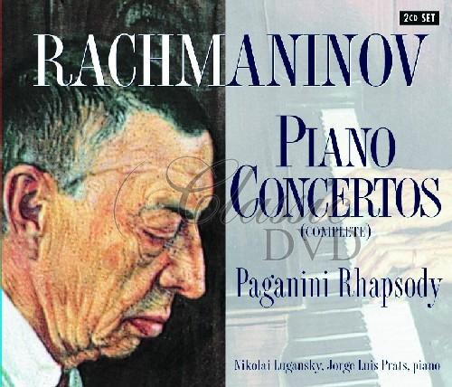 RACHMANINOV,S.: Klavírní koncerty 1-4; Rhapsody on a theme of Paganini (2CD)