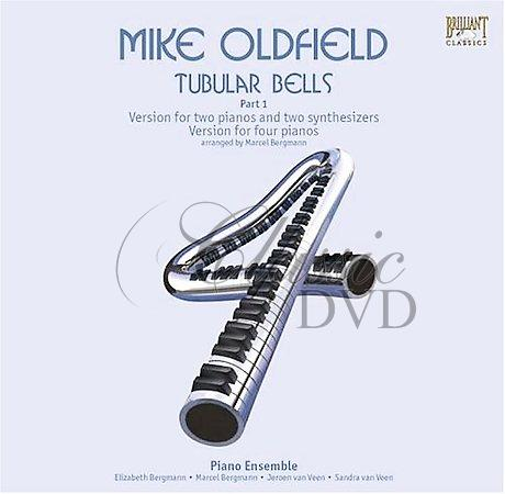 MIKE OLDFIELD: Tubular bells for 2 pianos & 2 synthesizers (CD)