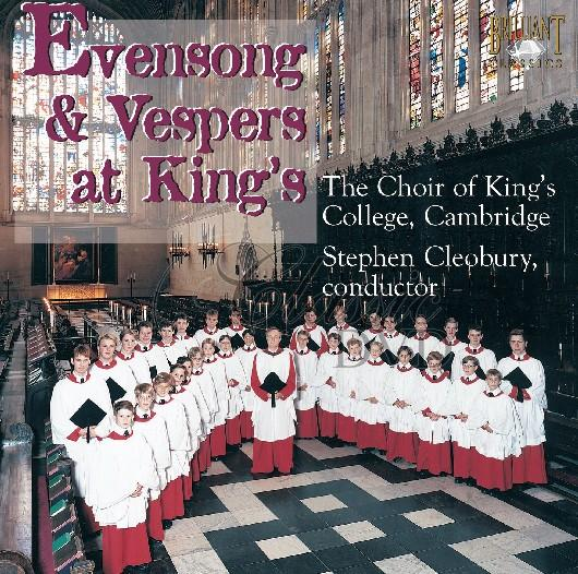 EVENSONG & VESPERS: At King`s College (CD)