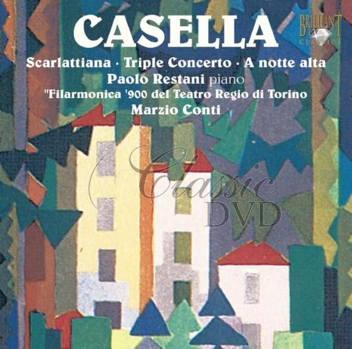 CASELLA,A.: Works for Piano & Orchestra (CD)