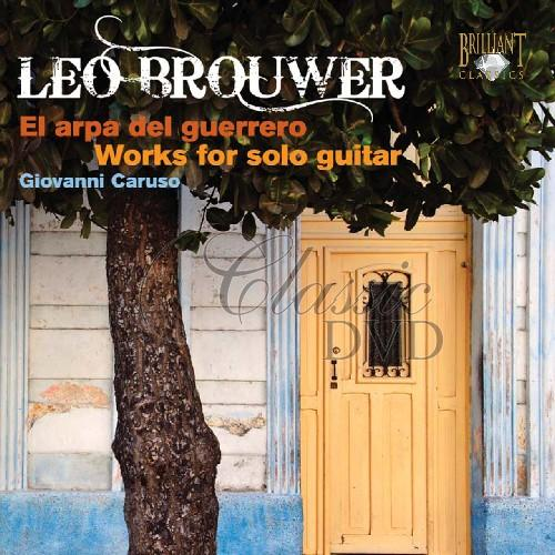 BROUWER,L.: Works for solo guitar (CD)