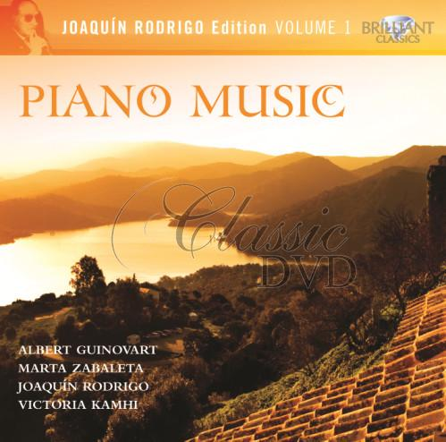 RODRIGO,J.: Complete Piano Music (3CD)