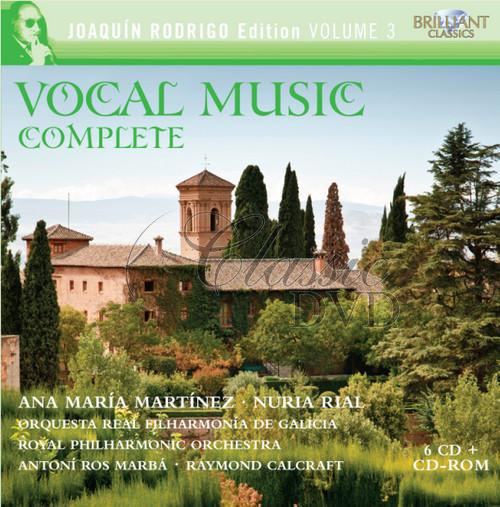 RODRIGO,J.: Complete Vocal Music (6CD)