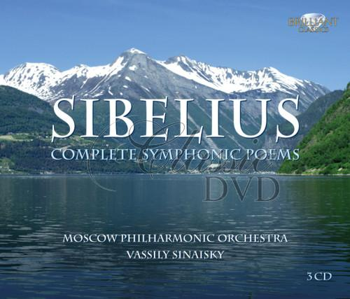 SIBELIUS,J.: Complete Symphonic Poems. Moscow Philharmonic (3CD)