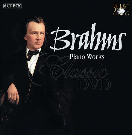 BRAHMS,J.: Complete Piano Works (6CD)