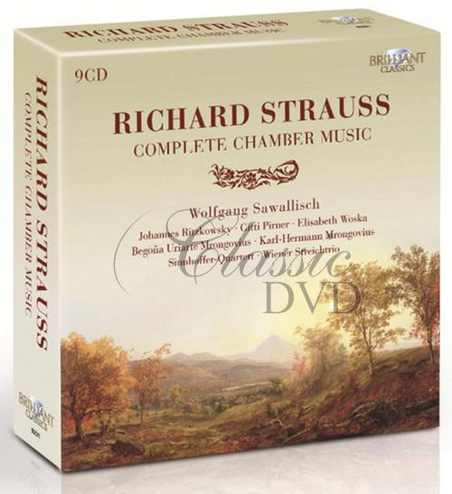 STRAUSS,R.: Complete Chamber Music (9CD)
