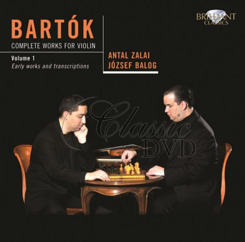 BARTOK,B.: Complete Works for Violin, vol.1 (CD)