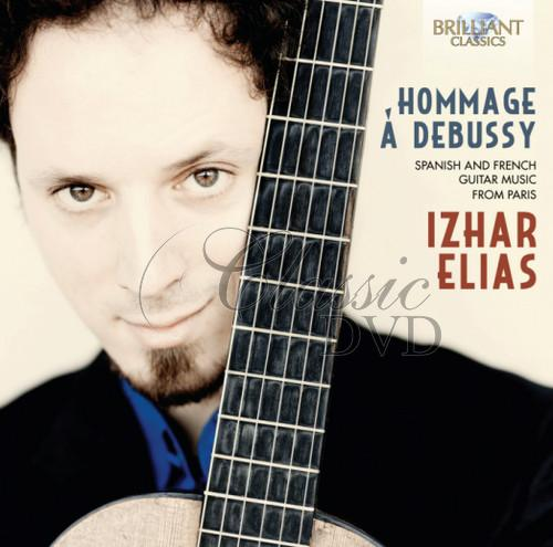 Hommage a Debussy – Spanish aand French Guitar Music from Paris (CD)