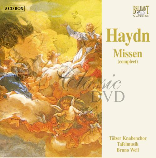 HAYDN,J.: Masses (5CD)