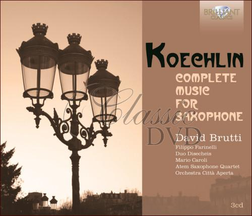 KOEHLIN,C.: Complete Music for Saxophone (3CD)
