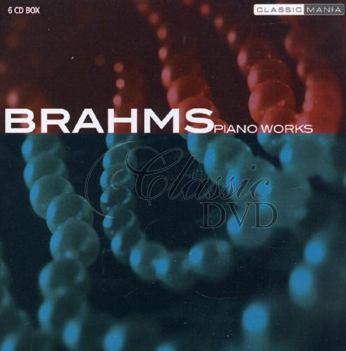 BRAHMS,J.: Piano Works (6CD)
