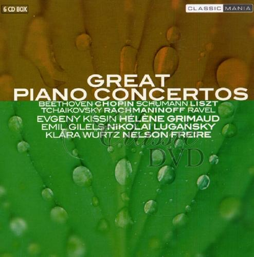GREAT PIANO CONCERTOS (6CD)