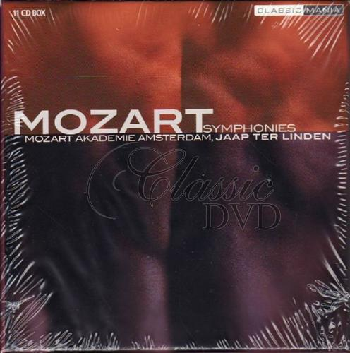 MOZART,W.A.: The Symphonies (11CD)