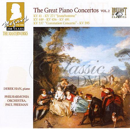 MOZART,W.A.: Piano concertos - Klavírní koncerty Vol.2 (3CD)
