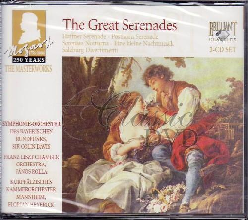 MOZART,W.A.: Great Serenades (3CD)