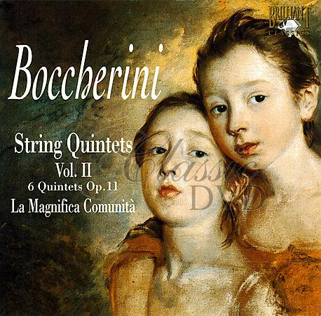 BOCCHERINI,L.: Smyčcové kvintety Vol.2 (2CD DG-Pack)